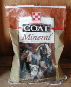 Goat mineral salt