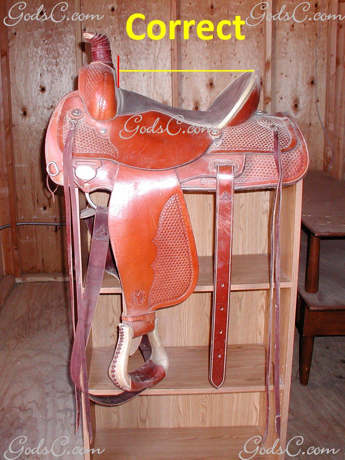 Western Saddle Chair - The saddle